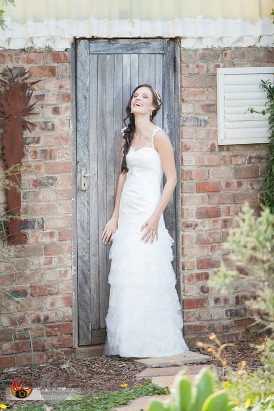 classic lace wedding dress with tiered tulle skirt amp lace