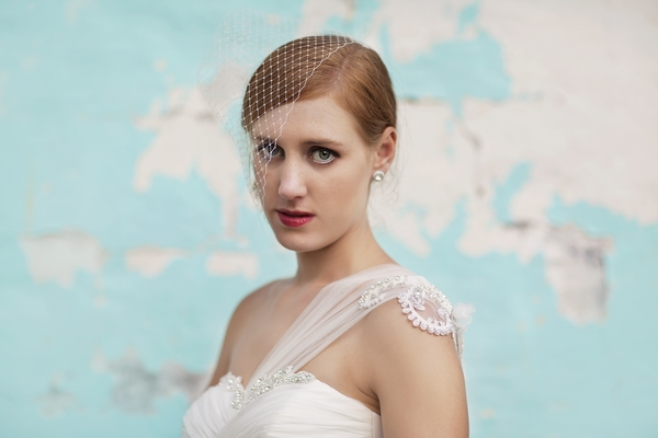 Chiffon Wedding Dress, Empire Style Wedding Dress